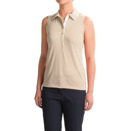 Sport Haley Roxanne Polo Shirt - UPF 30+, Sleeveless (For Women)