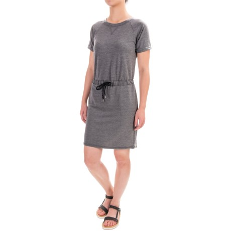 Freedom Trail Tie-Waist Dress - Short Sleeve (For Women)