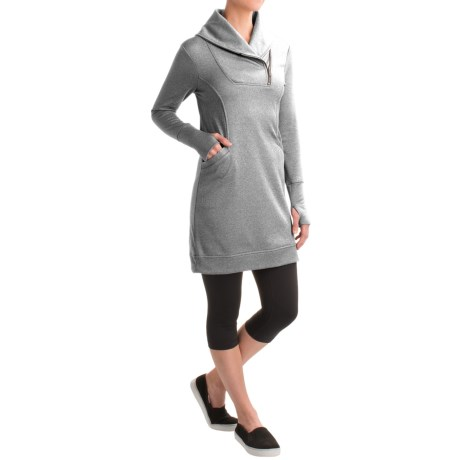 Freedom Trail Kyodan  Shawl Collar Dress - Long Sleeve (For Women)