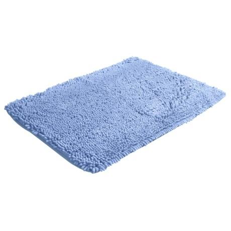 DII Microfiber Chenille Bath Mat - Rectangular