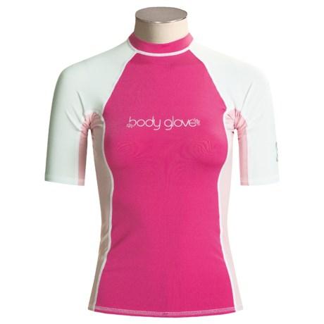 Body Glove Deluxe Rash Guard - Short Sleeve (For Women)