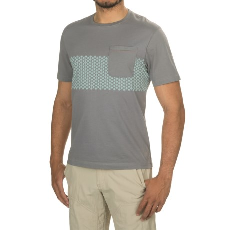 Howler Brothers Star Stripe Pocket T-Shirt - Short Sleeve (For Men)