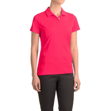 Puma Pounce Crest Golf Polo - Short Sleeve (For Women)