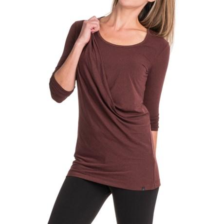 Merrell Evoke Jersey Tunic Shirt- Long Sleeve (For Women)