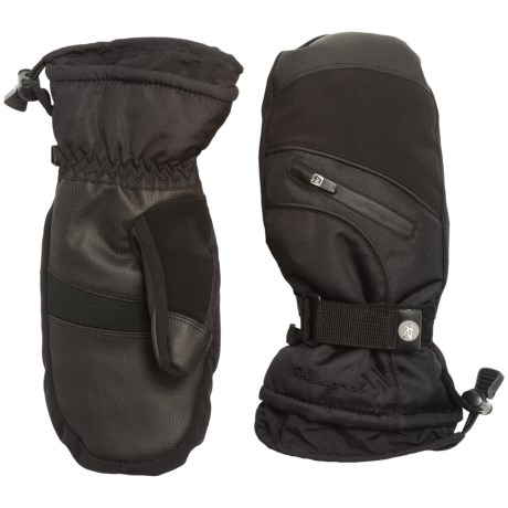 Rossignol Trend Ski Mittens - Waterproof, Insulated, Touchscreen Compatible (For Women)