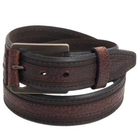 Lejon Chippewa Belt - Bison Leather (For Men)