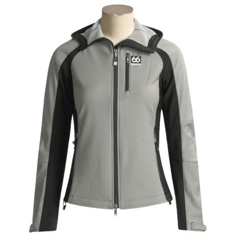 66° North Glymur Jacket - Polartec® Power Shield®, Soft Shell (For Women)