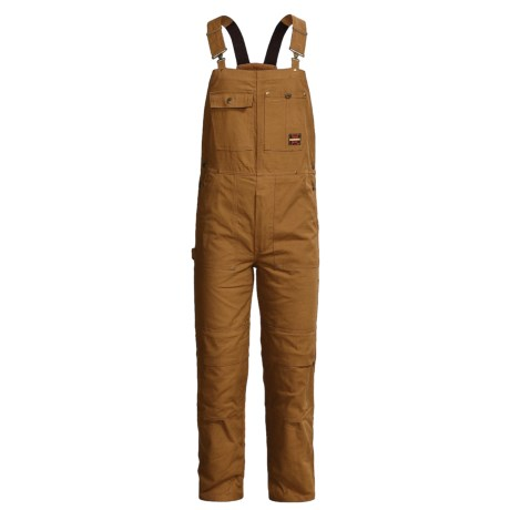 Tough Duck Pro Premium Duck Bib Overalls - Removable Liner (For Men)