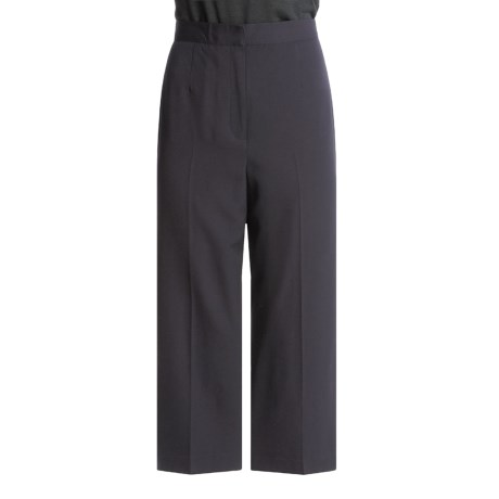 Austin Reed Worsted Wool Gabardine Pants - Petite, Single Pleat (For Women)