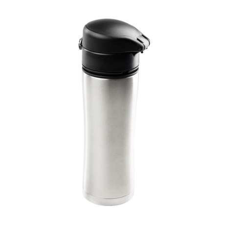 GSI Outdoors GSI Glacier Kaze Insulated Travel Mug - 13.5 fl.oz., Stainless Steel