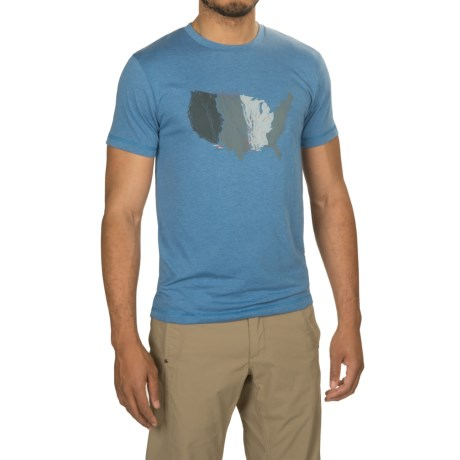 Sitka United States of Waterfowl T-Shirt - Short Sleeve (For Men and Big Men)
