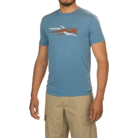 Sitka Logo T-Shirt - Short Sleeve (For Men and Big Men)