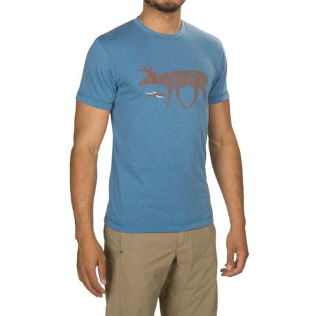 Sitka Deer Sketch Shirt - Short Sleeve (For Men and Big Men)