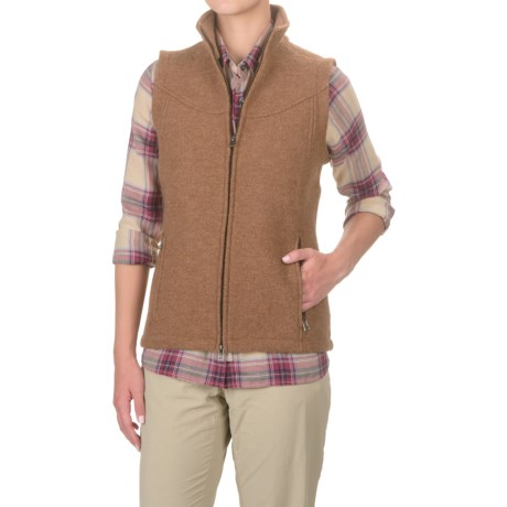 Ibex Nicki Loden Wool Vest (For Women)