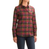 Ibex Taos Plaid Shirt - Snap Front, Long Sleeve (For Women)