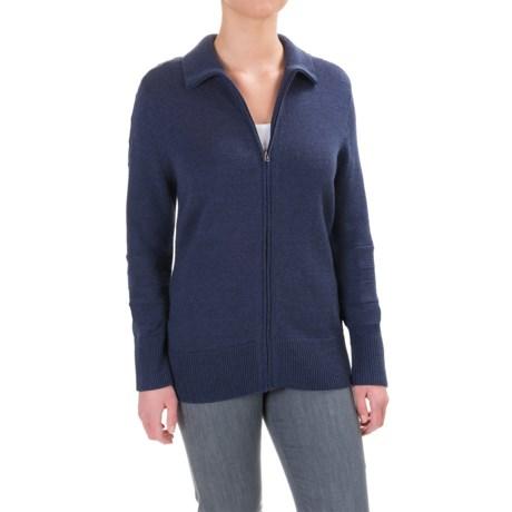 Ibex Chroma Sweater - Merino Wool, Zip Front (For Women)