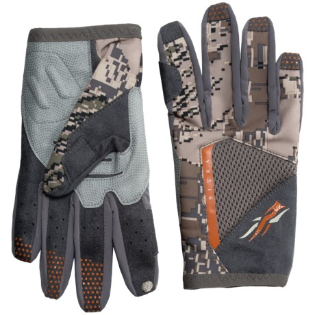 Sitka Shooter Gloves - Touchscreen Compatible (For Men)