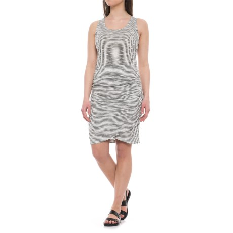 Dakini Shirred-Side Tank Dress - Rayon, Racerback (For Women)