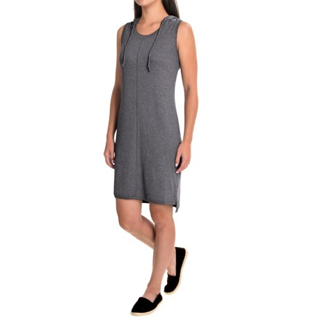 Dakini Hooded Racerback Dress - Sleeveless (For Women)
