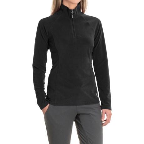 White Sierra Ponderosa Fleece Jacket - Zip Neck (For Women)