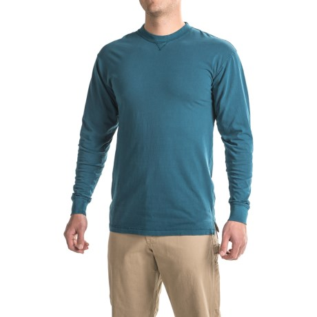 Canyon Guide Outfitters Dyed Jersey Shirt - Crew Neck, Long Sleeve (For Men)