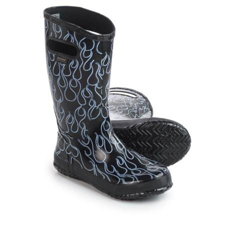 Bogs Footwear Bogs Flames Rain Boots (For Big Girls)