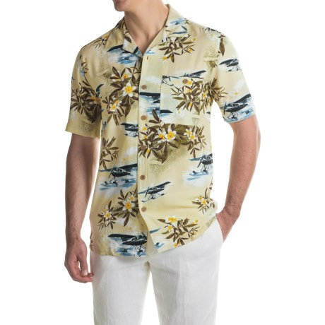 Oliver & Burke Planes Shirt - Short Sleeve (For Men)