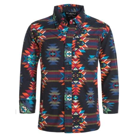 Kavu Grayson Jr. Twill Shirt - Long Sleeve (For Toddler Boys)