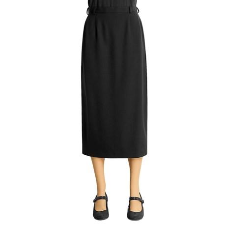 Austin Reed Gabardine Straight Skirt - Wool (For Women)