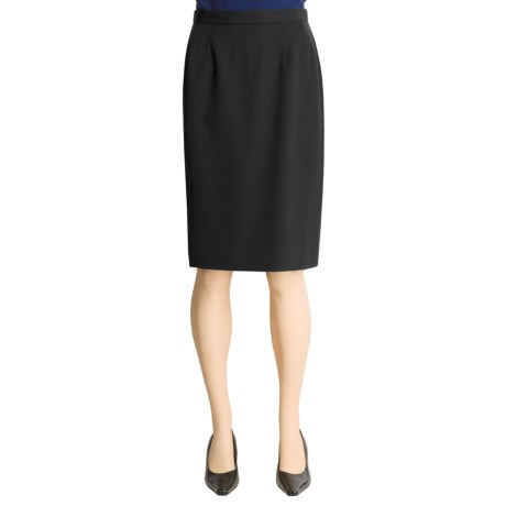 Austin Reed Worsted Wool Gabardine Skirt - Straight (For Women)