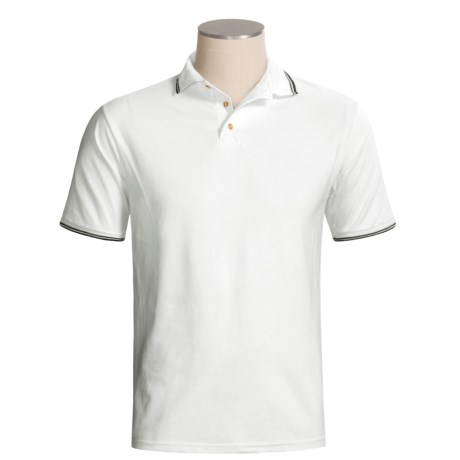 Hanes StayClean Polo Shirt - Jersey Blend, Short Sleeve (For Men)