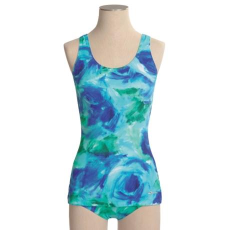 Dolfin Ocean Aquashape One-Piece Swimsuit - UPF 50+, Scoop Back (For Women)