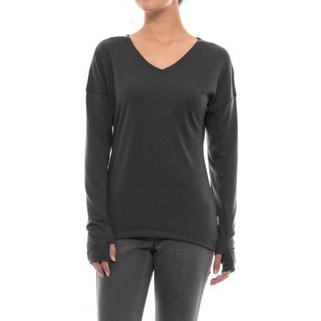 White Sierra Pebble Peak Shirt - Long Sleeve (For Women)