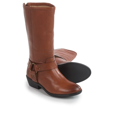 Small Frye Phillip Harness Tall Boots - Leather (For Little and Big Girls)