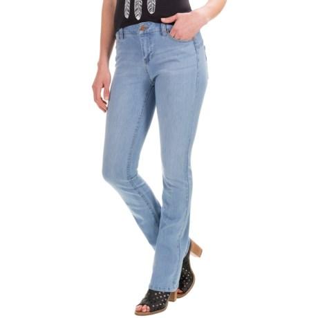 Liverpool Jeans Company Contour Detail Jeans - Straight Leg (For Women)