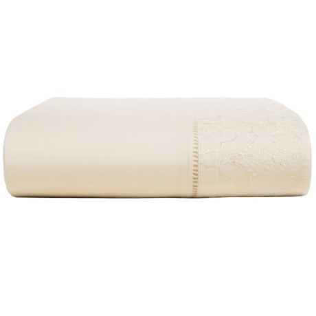 Christy of England Christy Chantilly Cotton Flat Sheet - 200 TC, King