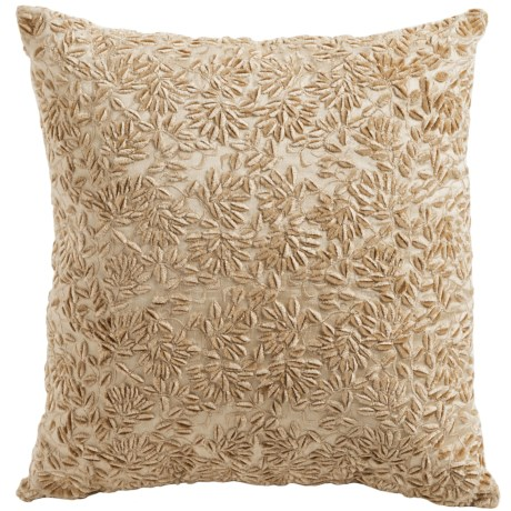 Christy of England Christy Naomi Embroidered Square Throw Pillow
