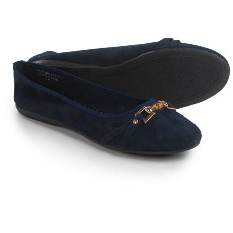 Italian Shoemakers Contesa by  Luisa Flats - Nubuck (For Women)