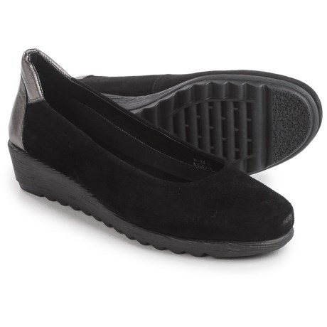 Italian Shoemakers Wedge Shoes - Suede (For Women)