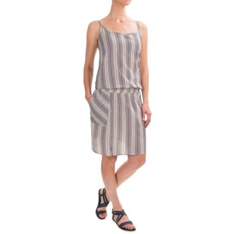 dylan Hippie Striped Romper Dress - Sleeveless (For Women)