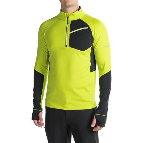 Obermeyer Flight Sport Fleece Shirt - Zip Neck, Long Sleeve (For Men)