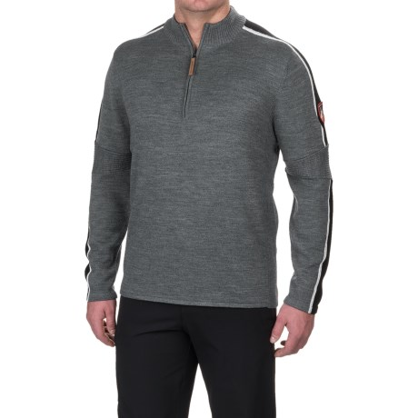 Obermeyer Vista Sweater - Merino Wool, Zip Neck (For Men)