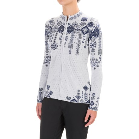 Obermeyer Chalet Cardigan Sweater - Full Zip, Merino Wool (For Women)