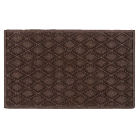 "Entryways Weather Beater Entry Door Mat - 18x30"", Polypropylene"