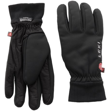 LEKI Hiker Pro Windstopper® Gloves - Insulated, Touchscreen Compatible (For Men and Women)