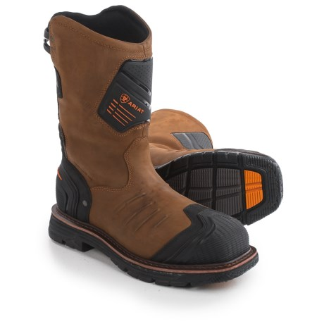 Ariat Catalyst VX Leather Work Boots - Composite Toe (For Men)