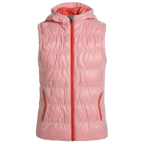 White Sierra St. Helen's Vest - Insulated (For Little and Big Girls)