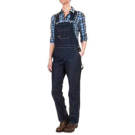 Dickies Relaxed Fit Straight-Leg Bib Overalls (For Women)