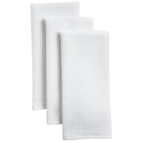 The Turkish Towel Company Cotton Kitchen Towels - 3-Pack