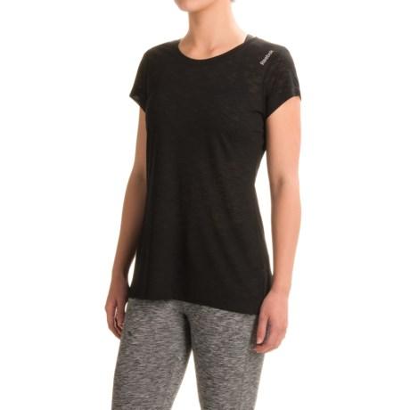 Reebok Flyaway Shirt - Short Sleeve (For Women)